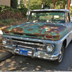 Pickup with patina