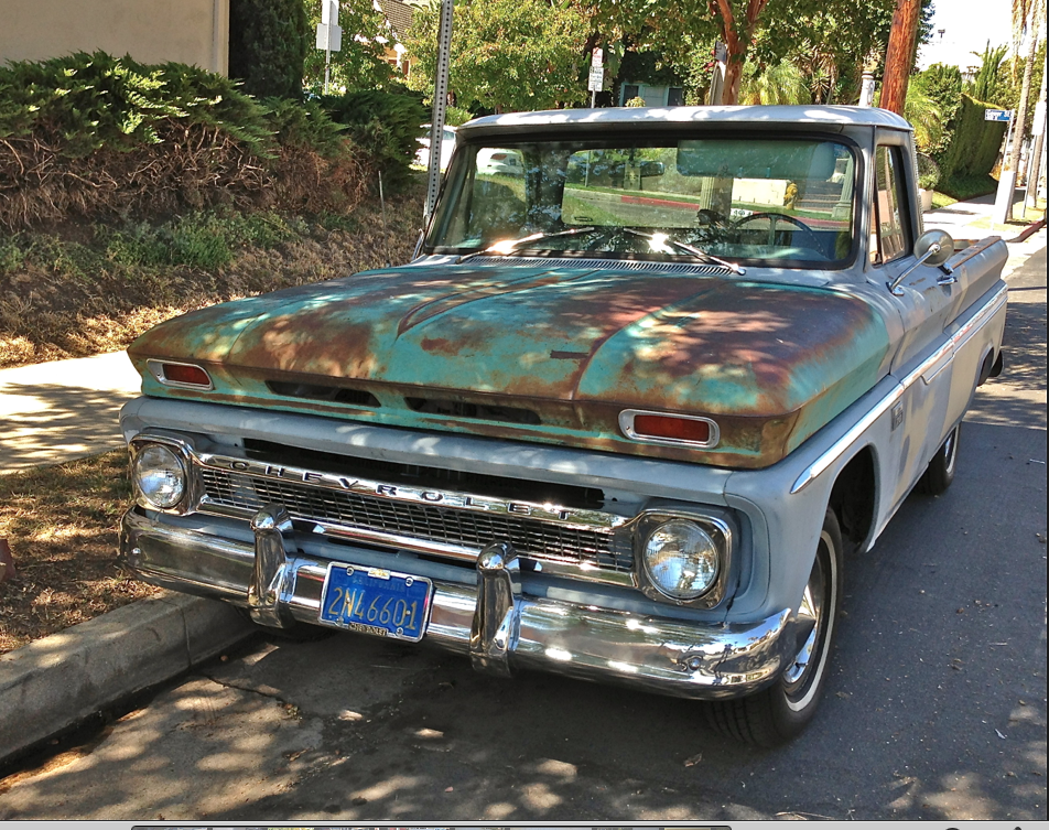 Pickup with patina | Feral Cars
