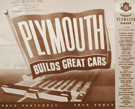 "Rally around this banner, true 'Plymouth ""rockers!'"