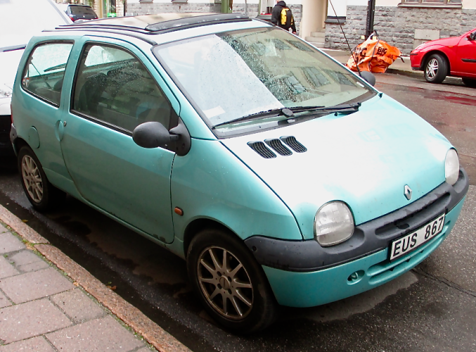 Twingo!  No, you don't eat it, you drive it