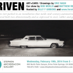 DRIVEN: hosted by Billy F Gibbons + feralcars.com, 2/19 in Palm Springs