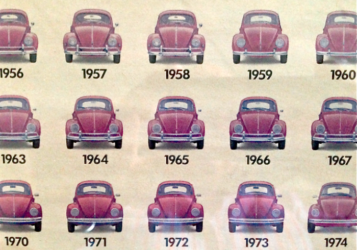 '65: Beetle in the middle