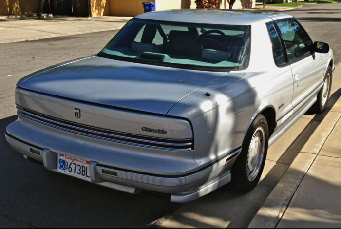 This is what a Toronado looked like in 1990