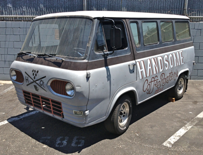 Ford Econoline pressed into hipster servitude