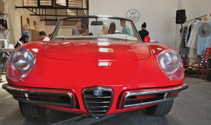 Alfa Duetto makes the retail scene