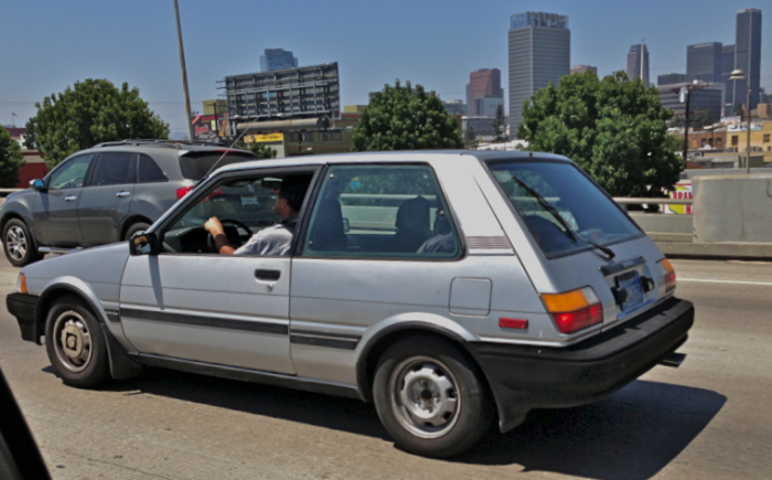 Corolla FX: feral freeway flyer