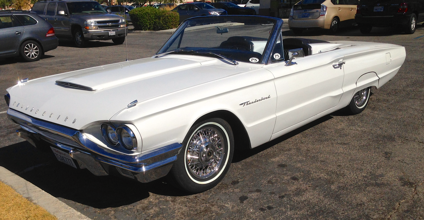 Ford Feral Cars Page 2 1964 Ltd Convertible Low Down Bird