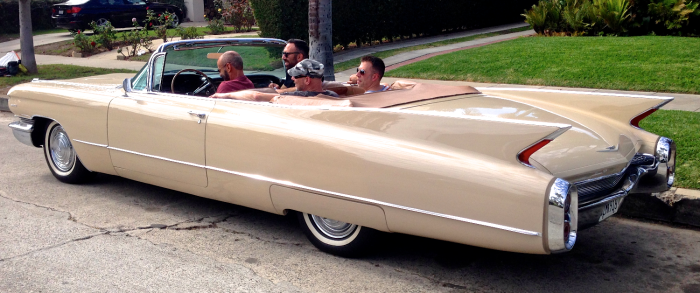 Caddy affords older fellas a chance to do some Harry Stylin'