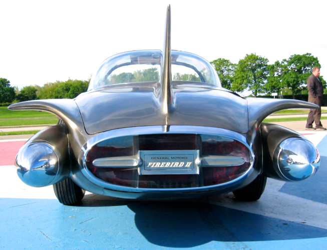 '50s Firebird, a literal road rocket