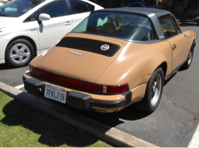 Butterscotch Targa